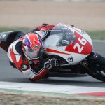 A pair of top ten finishes for Jonathan in PreMoto3 debut at Albacete